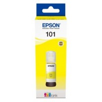 Cartus cerneala Original Epson 101 Yellow, 70ml, compatibil L4150/L4160/L6160/L6170/L6190 C13T03V44A